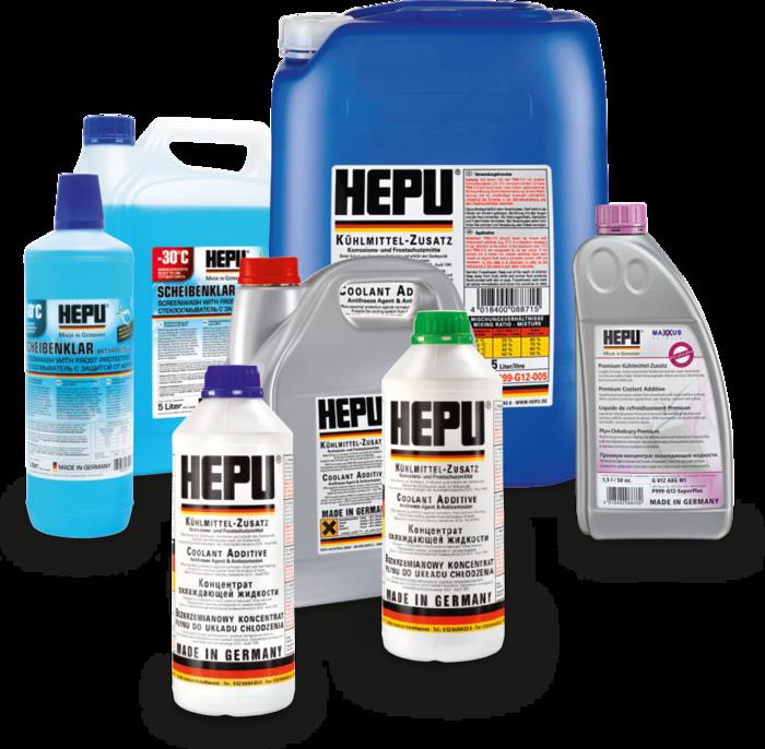 Coolants - HEPU® Autoteile